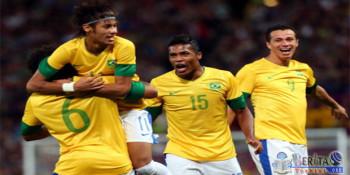 Brasil satu grup dengan Irak, Afrika Selatan, dan Denmark