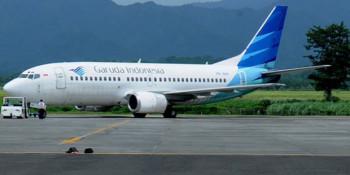 Garuda Buka Penerbangan Medan-Silangit Untuk Danau Toba