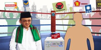 Elektabilitas Ahok Menurun, PPP: Kami Tambah Semangat!