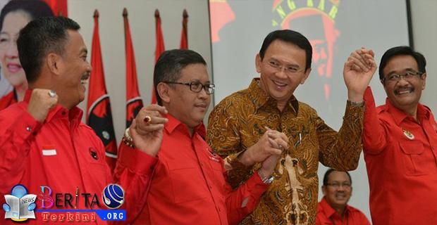 PDIP Bakal Bentuk Timses Internal Ahok dan Djarot