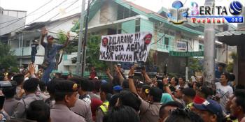 Penghadang Kampanye Djarot di Kembangan Sambangi Bawaslu DKI Untuk Klarifikasi