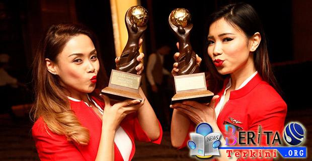 Berbiaya Hemat Terbaik, Air Asia Dapatkan 2 Penghargaan Bergengsi
