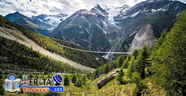 Swiss Hadirkan Jembatan Gantung Terpanjang Yang Ada Didunia, Mau Mencobanya?