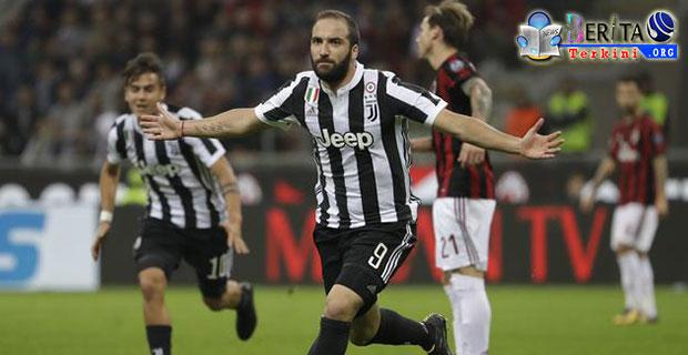 Dua Gol Hebat Diciptakan Oleh Higuan, Pelatih AC Milan Sanjung Striker Juventus