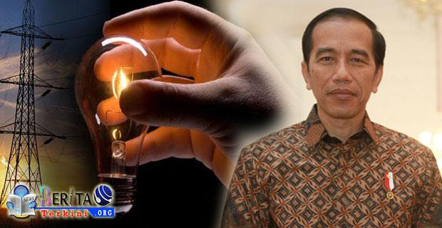 Presiden Jokowi Sukses Dalam Optimalkan Sumber Daya Listrik di Seluruh Wilayah Indonesia Hingga 93 Persen