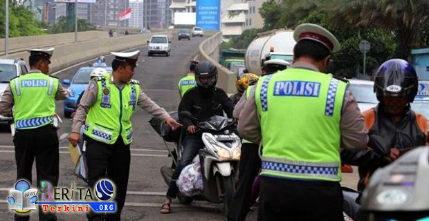 Taatilah Aturan Berlalu Lintas, Polisi Kian Marak Lakukan Razia PKB