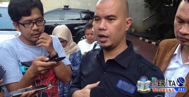 Musisi Ahmad Dhani Resmi Ditetapkan Polisi Sebagai Tersangka Kasus Ujaran Kebencian