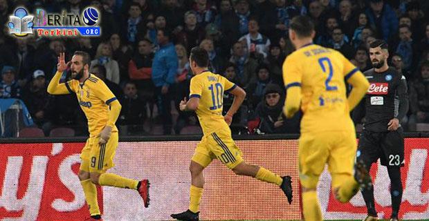 Tampil Menjadi Pahlawan di Laga Melawan Napoli, Higuan Kemas Gol Tunggal Untuk Juventus