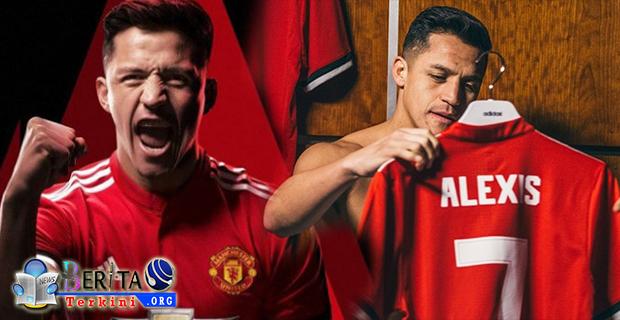 Alexis Sanchez Resmi Kenakan Kostum Bernomor Punggung 7 Milik Cristiano Ronaldo