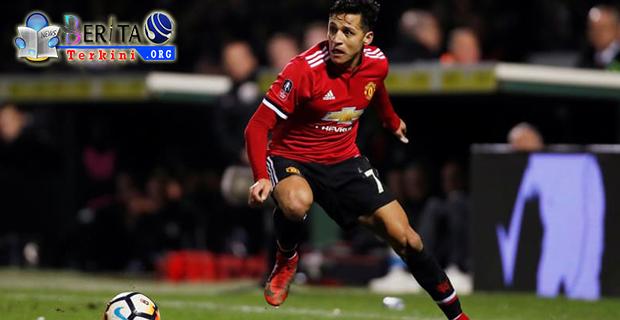 Laga Debut Melawan Yeovil Town, Sanchez Sumbangkan Gol Pertama Untuk Manchester United