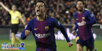 Berseragam Barcelona Suarez Dan Coutinho Ulang Kembali Momen Indah di Liverpool Setelah Taklukan Valencia