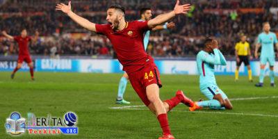 Tentunya hal yang tidak terduga terjadi, AS Roma yang sedari awal diprediksikan akan kalah dari tim Kuat Barcelona, kali ini membuat keajaiban