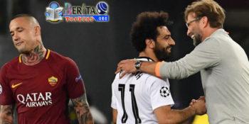 Liga Champions : Kalah Agregat Dan Gagal Singkirkan Liverpool, AS Roma Gigit Jari