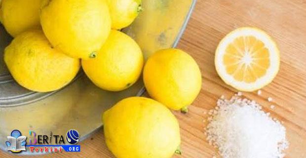 Wajah Mulus Cantik Dengan Perawatan Masker Garam Lemon, Apa Bisa?