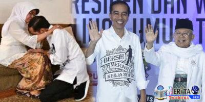 Sebelum Melangkah Maju Mencalonkan Diri di Pilpres 2019, Jokowi Minta Doa Restu Ibunda