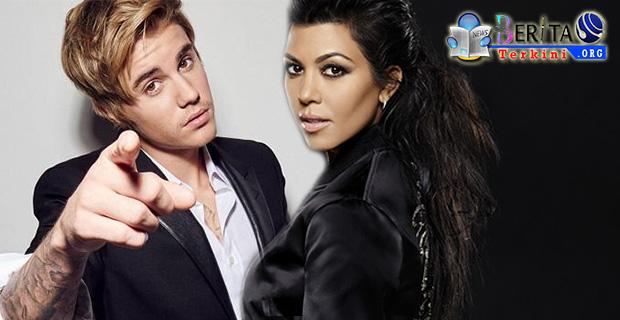 Tersiar Kabar Pernikahan Justin Bieber, Kourtney Kardashian Terbakar Api Cemburu