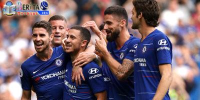 Ciptakan Hattrick, Eden Hazard Pimpin Puncak Skor di Premier League