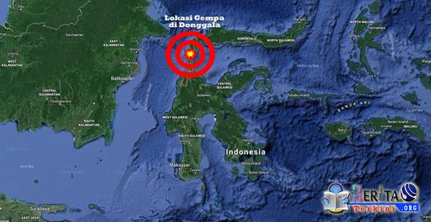Gempa dan Tsunami Dahsyat Guncang Palu, Tercatat 48 Korban Meninggal Dunia