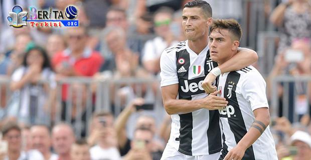 Tepis Isu Tak Akur, Allegri Sebut Ronaldo dan Dybala Duet Yang Cocok