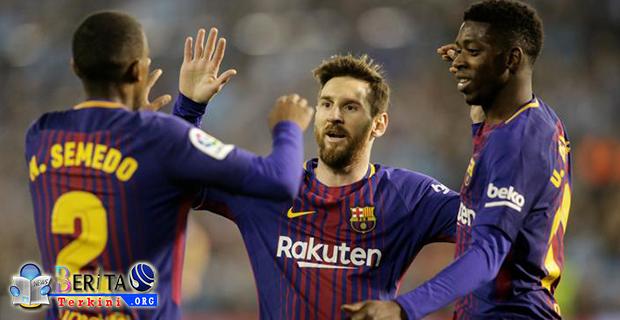 Barcelona Optimis Siap Geser Posisi Sevilla di Klasemen La Liga Spanyol