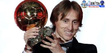Luka Modric Menangkan Ballon d'Or 2018, Cristiano Ronaldo Gigit Jari