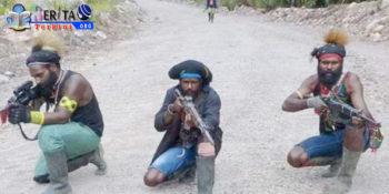 Semakin Gencar! Baku Tembak Dengan KKSB Papua, 1 Anggota Brimob Terluka