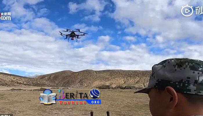 Makin Canggih, China Uji Coba Drone Pembawa Peluncur Granat