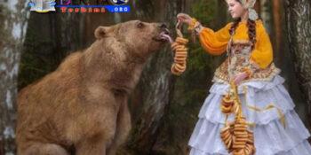 """Lihat! Beruang Ini Jadi Model """"Paling Laris"""" di Rusia"""