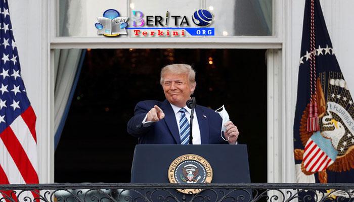 Trump: Tampaknya Saya Sudah Kebal Terhadap Covid-19